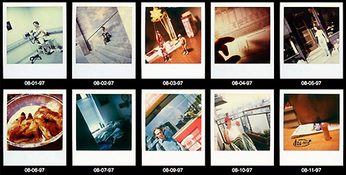 A Polaroid Every Day Until the End | Detangle.Us